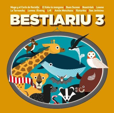 Portada 'Bestiariu 3'