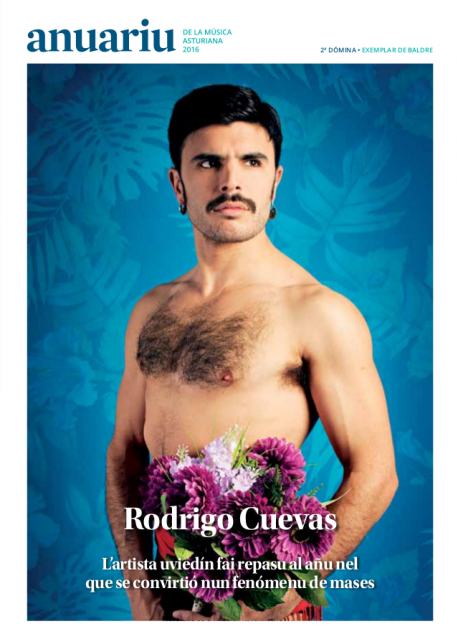 Portada del Anuariu de la Música Asturiana 2016 Rodrigo Cuevas