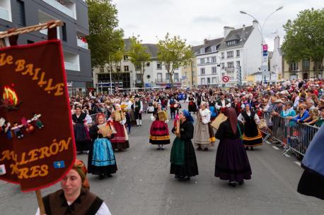 Prau Llerón na Grande Parade des Nations Celtes