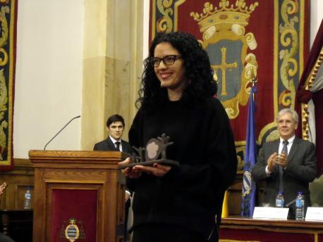 Premios Lliteriarios 2016: Vanessa Gutiérrez, con 'El paisaxe nuestru' (XXII Premiu Máximo Fuertes Acevedo d'ensayu)