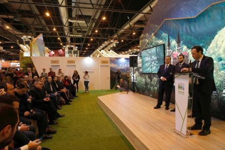 Presentacion programa Cuadonga Centenarios 2018 en FITUR
