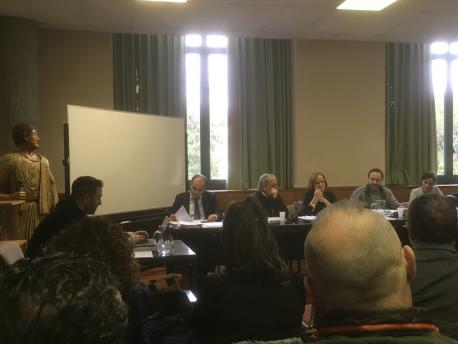 Presentación tesis 'La llingua asturiana nel Franquismu' d'Inaciu Galán