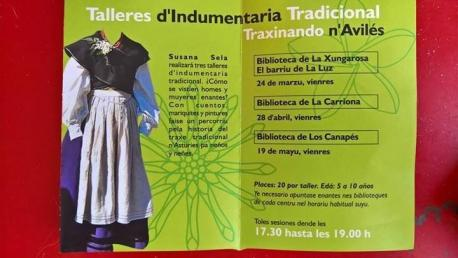 El taller 'Traxinando n'Avilés' vive en Los Canapés la sesión última