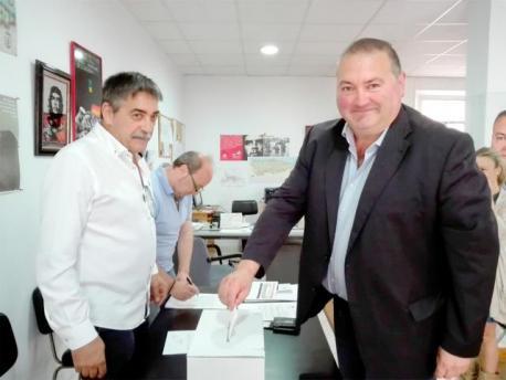 Ramón Argüelles votación consulta IX