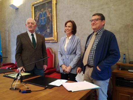 Ramón Rodríguez Álvarez, Marta Pérez Toral y Ramón d'Andrés RIDEA y SFA