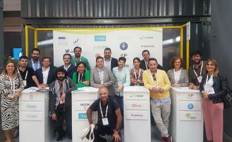 Representantes empreses participantes nel South Summit