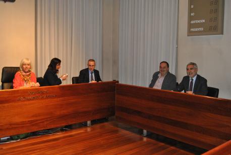 Reunión Comisión Especial d'Estudiu sobre'l Réxime de Proteición y Promoción del Asturianu sala Xovellanos