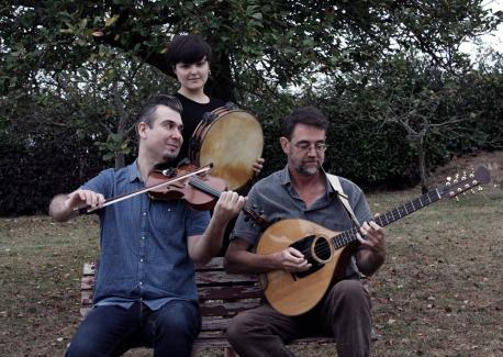Rubén Bada, Leticia Baselgas y Elías García