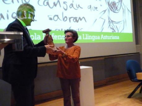 Santiago García Granda y Lali Solar Pegollu XXXIV Premios Andrés Solar
