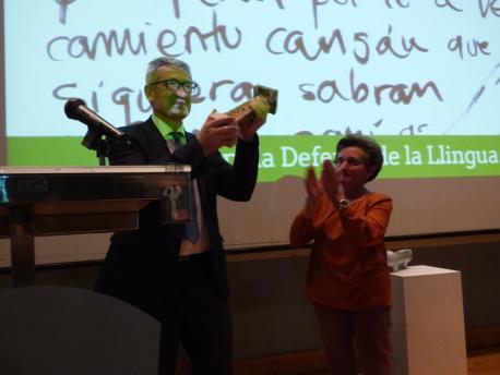Santiago García Granda y Lali Solar XXXIV Premios Andrés Solar