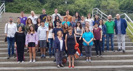 Sesta promoción de la Escuela de Branu d'Asturianía