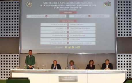 Sortéu fase d'ascensu a Segunda División A