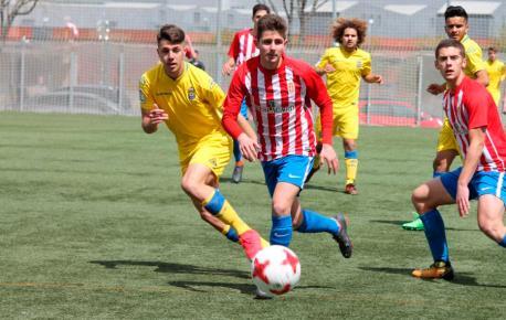 Sporting 3-0 Las Palmas (30d'abril del 2018) cuartos Copa de Campeones xuvenil