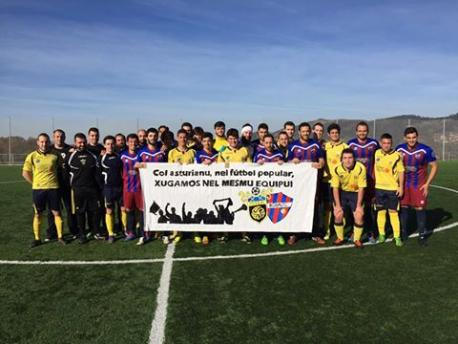 El Stiaua d'Asturies y el Rosal, dos equipos xuníos pol asturianu