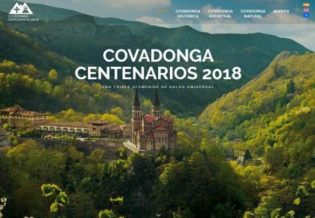 Web centenarios Cuadonga