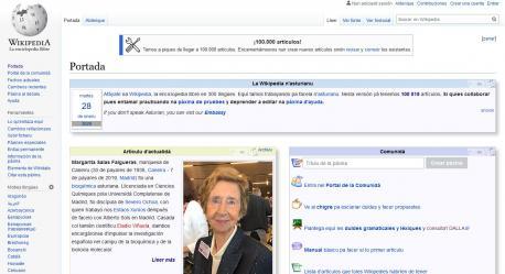 Wikipedia 100.000 artículos
