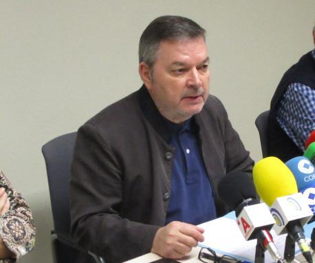 Xosé Antón González Riaño rueda de prensa