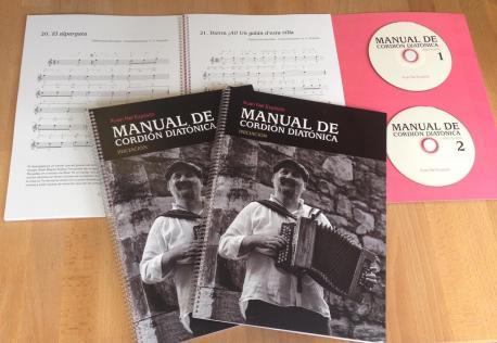 """Esti manual permite tocar la cordión diatónica dende'l primer día"", asegura Expósito"
