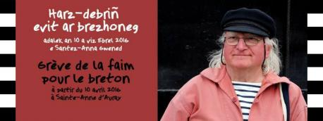 Un activista de 80 años anuncia una fuelga de fame pola falta d'una política llingüística y cultural en Breizh