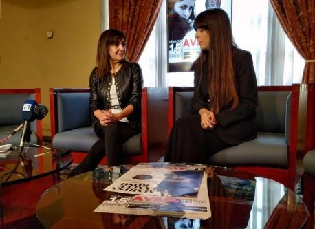 Yolanda Alonso y Marisa Valle Roso conciertu fin de xira 'Consciente'