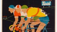 El Cartel Deportivu na colección del Muséu del Pueblu D'Asturies  (1940 - 2000)