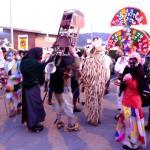 Mazcaritos nes alcuentros de mascaraes en Valdeosto. Siero 2012.