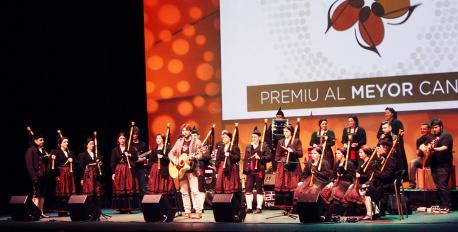 Xaime Martínez, Lafu y Rebeca, Los Berrones y El Trasno, finalistes del XI Premiu al Meyor Cantar