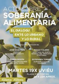 La Caravana rural de Podemos llega a Uviéu