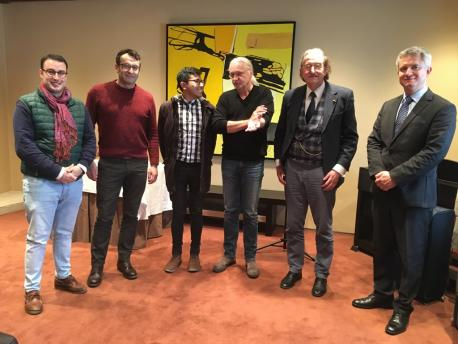 Conceyu Iniciativa pol Asturianu con Comité d'Espertos Carta Europea