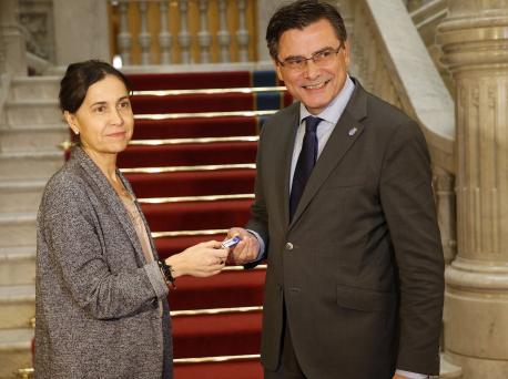 Dolores Carcedo y Pedro Sanjurjo presupuestos 2019