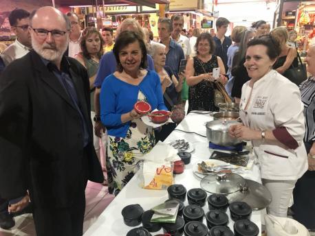 Inauguróse en Madrid la Selmana d'Alimentos de Calidá Diferenciada del Principáu d'Asturies