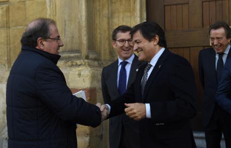 Juan Vicente Herrera y Javier Fernández