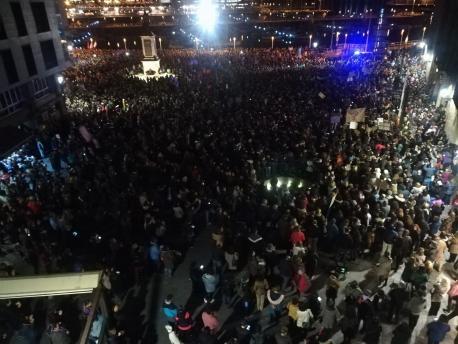 Manifestación 8-M Xixón