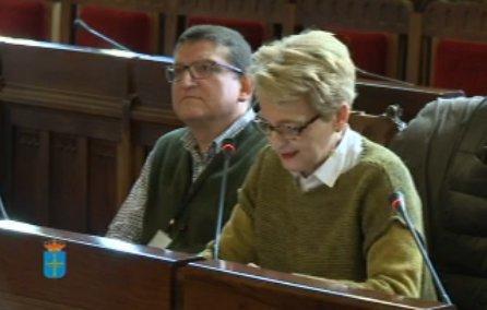 """""""Dame tristura ver esti hemiciclu vacíu"""", afirma Pilar Rubiera"""