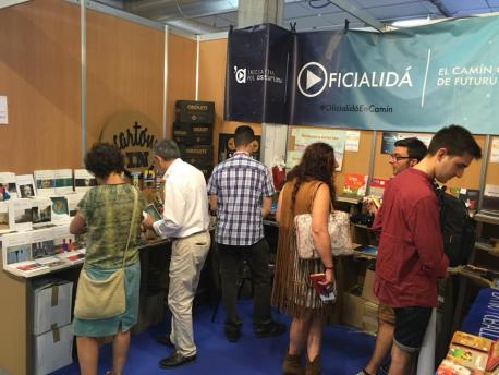 Puestín Iniciativa pol Asturianu na FIDMA