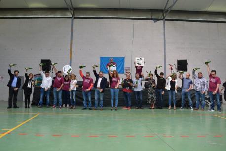 Representantes institucionales XXII Fiesta de la Oficialidá