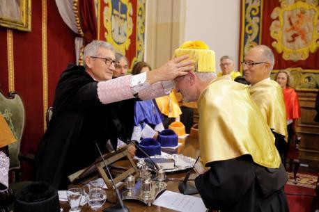 Santiago García Granda y Carmine Zoccali