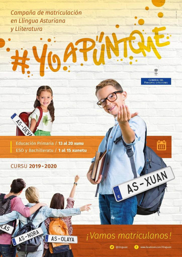 Cartelu campaña #YoApúntome