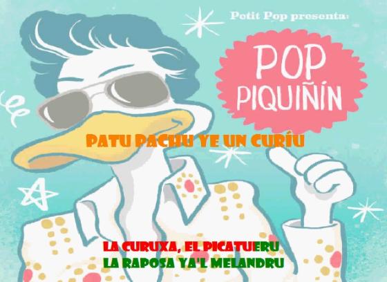 Karaoke 'Patu Pachu ye un curíu' Pop Piquiñín