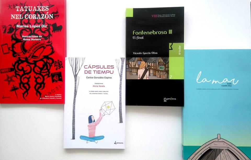 Obres ganadores del Premiu María Josefa Canellada de lliteratura infantil y xuvenil
