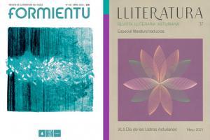 Alcuentru 'Lliteratura' y 'Formientu' en Mieres recortáu