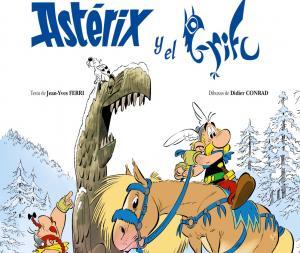 Cubierta 'Astérix y el grifu'