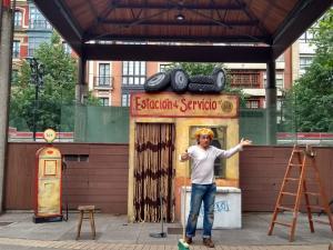 'El viaxe de Covaletti', d'Higiénico Papel en Xixón