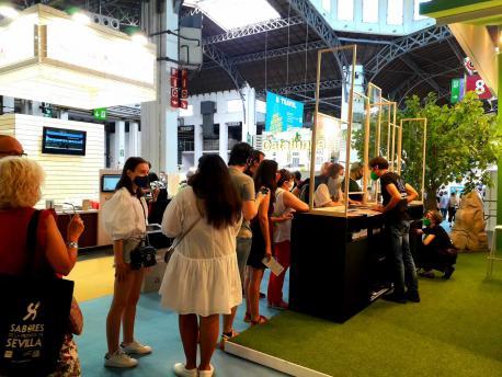 La Conseyería de Cultura participó con un espaciu propiu na feria B-Travel de Barcelona
