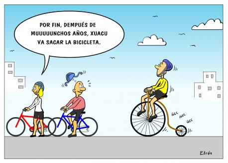 Les bicicletes son pal branu