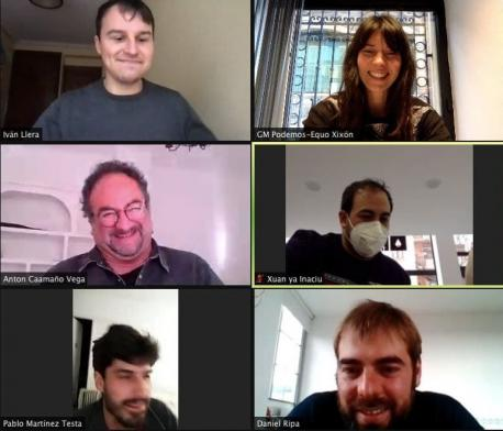 Aconceyamientu Podemos y Iniciativa pol Asturianu