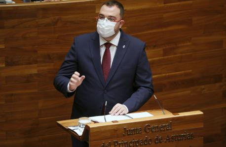 Adrián Barbón alderique d'orientacion politica