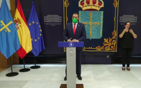 Adrián Barbón balance 2 años presidente amplia