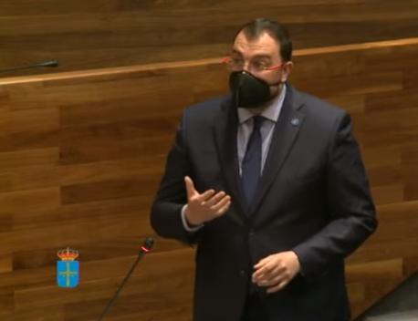 Adrián Barbón respuesta reforma del Estatutu