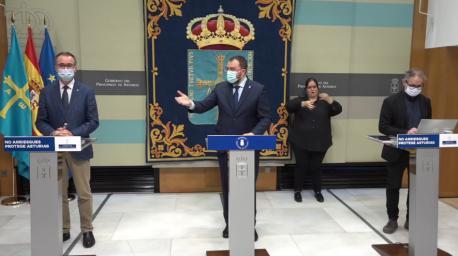 Adrián Barbón solicitú estáu d'alarma